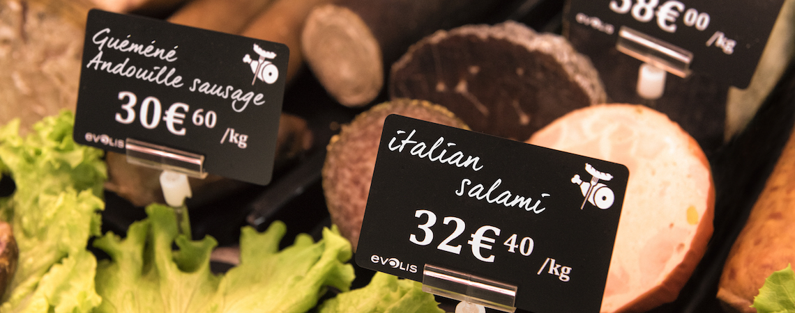 High-class price tag designs
