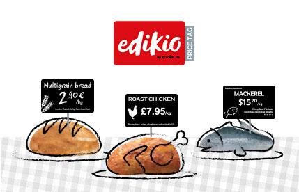 Edikio Price Tag solutions - Evolis