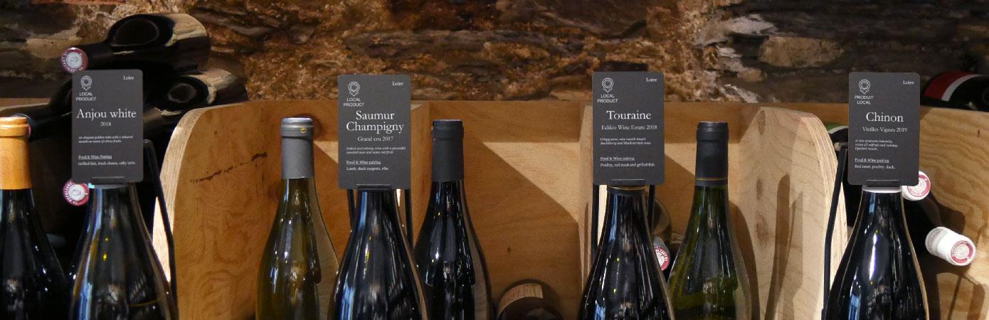 Wine presentation tag