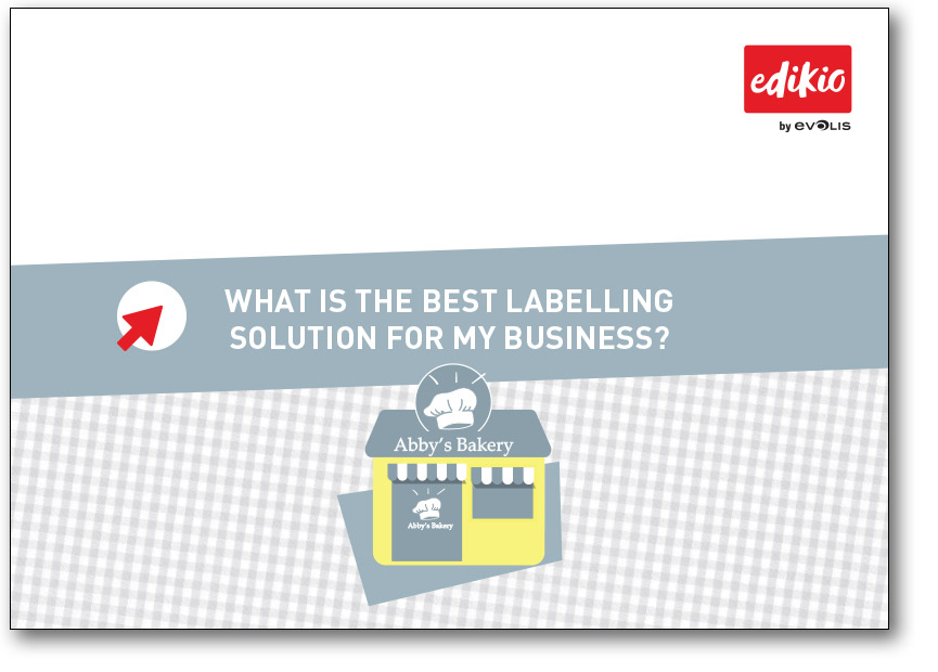 Edkio - download the guide to know what is the best labelling solution for your business