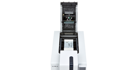Edikio Duplex Price Tag printer - Ribbons are easy to install